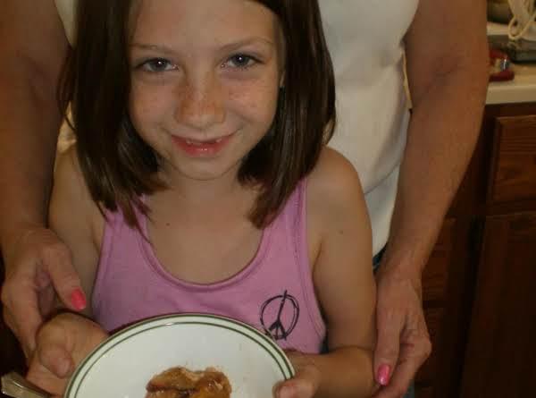 Nectarine Bread Pudding Cobbler Recipe