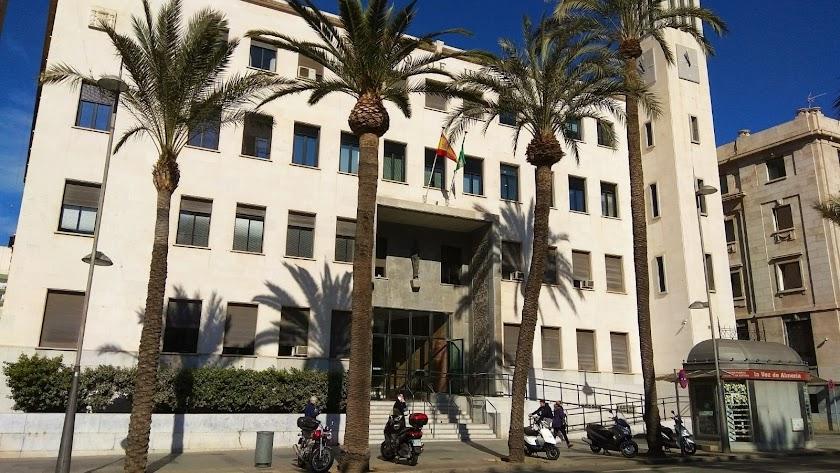 El Palacio de la Justicia de Almería.