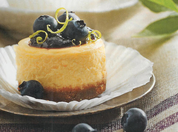 Petite Blueberry Cheesecakes Recipe