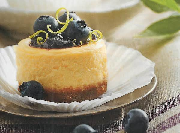 Petite Blueberry Cheesecakes Recipe