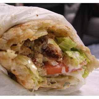 Greek Pita Wrap