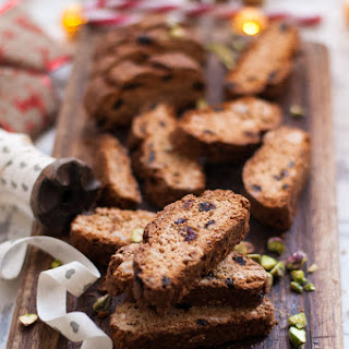 Cranberry and Sweet Sherry Biscotti Recipe
