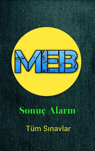 MEB Sonuç Alarm