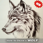 Wolf Drawing icon