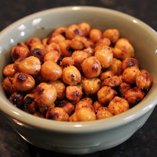 Crunchy Creole Roasted Chick Peas.