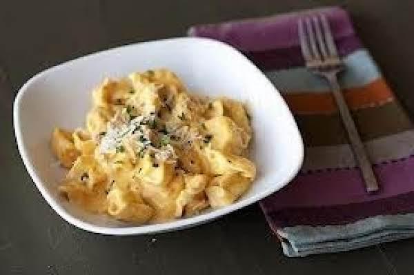 Tortellini With Pumpkin Alfredo Sauce Recipe