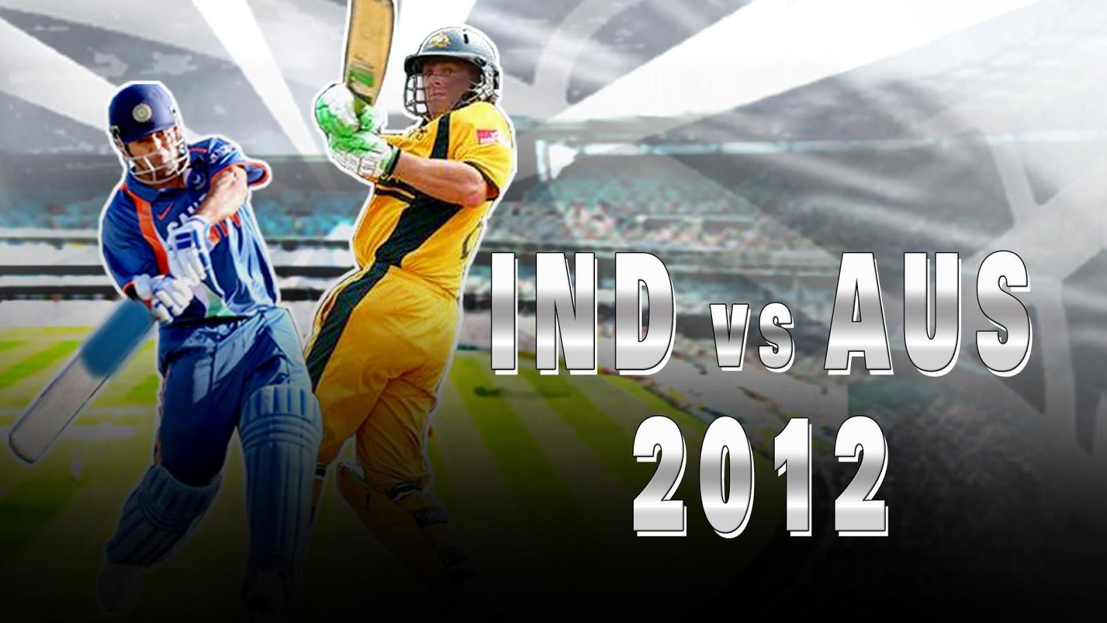 IND vs AUS 2012- screenshot