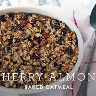 Cherry-Almond Baked Oatmeal