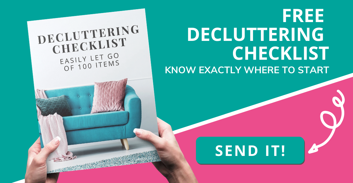 Send my FREE Decluttering Checklist!