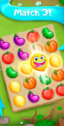 Funny Farm match 3 Puzzle game! screenshots 1