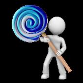 Cobalt Lollipop - CM12 Theme