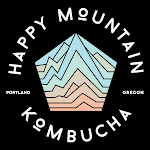 Happy Mountain Peach Kombucha