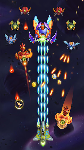 Galaxy Invaders: Alien Shooter Android App Screenshot