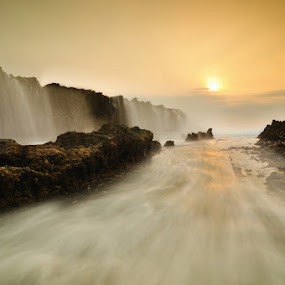 Mystical Waterfall by Alfonso Reno - Landscapes Waterscapes ( waterscape, landscape )