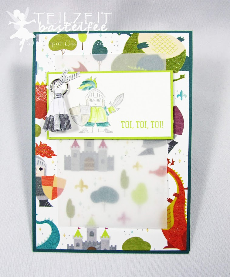 Stampin' Up! - Inkspire_me #366, Sketch Challenge, Einschulung, Magical Day,