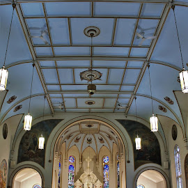 Saint Lawrence the Martyr, Hamilton, Ontario, Canada by Carl VanderWouden - Buildings & Architecture Places of Worship