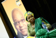 Presidential hopeful Nkosazana Dlamini-Zuma.
