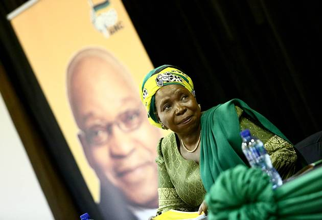 Presidential hopeful Nkosazana Dlamini-Zuma. File photo.