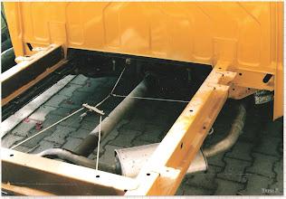 Photo: T4 Rahmen Vorderteil. Habe Ende 2012 die Rahmenträger rostgeschützt mit fluid film aus der Sprühdose. Dabei so gut wie keine Rostansätze festgestellt.