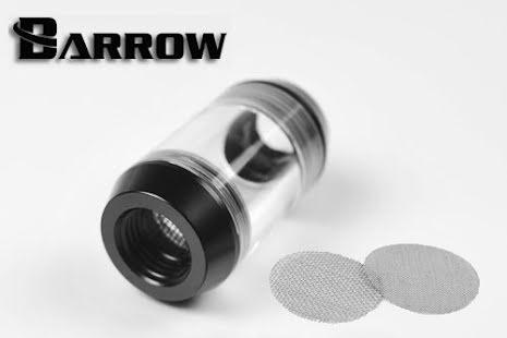 """Barrow inline filter, 1/4""""BSP, Black"""