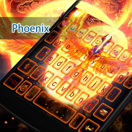 Phoenix Eva Keyboard -DIY Gifs 遊戲 App LOGO-硬是要APP