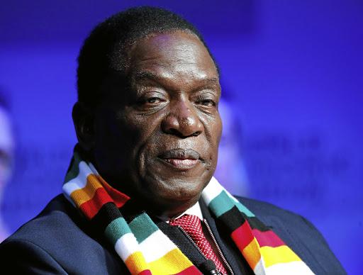 Zimbabwe President Emmerson Mnangagwa. Picture: REUTERS