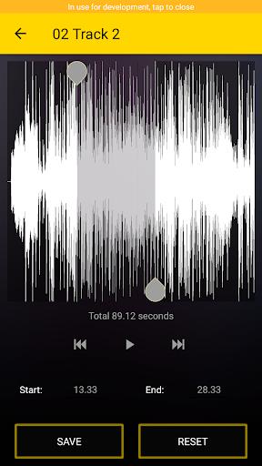 ms ringtone & mp3 cutter screenshot 3