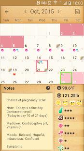 Period Calendar / Tracker- screenshot thumbnail
