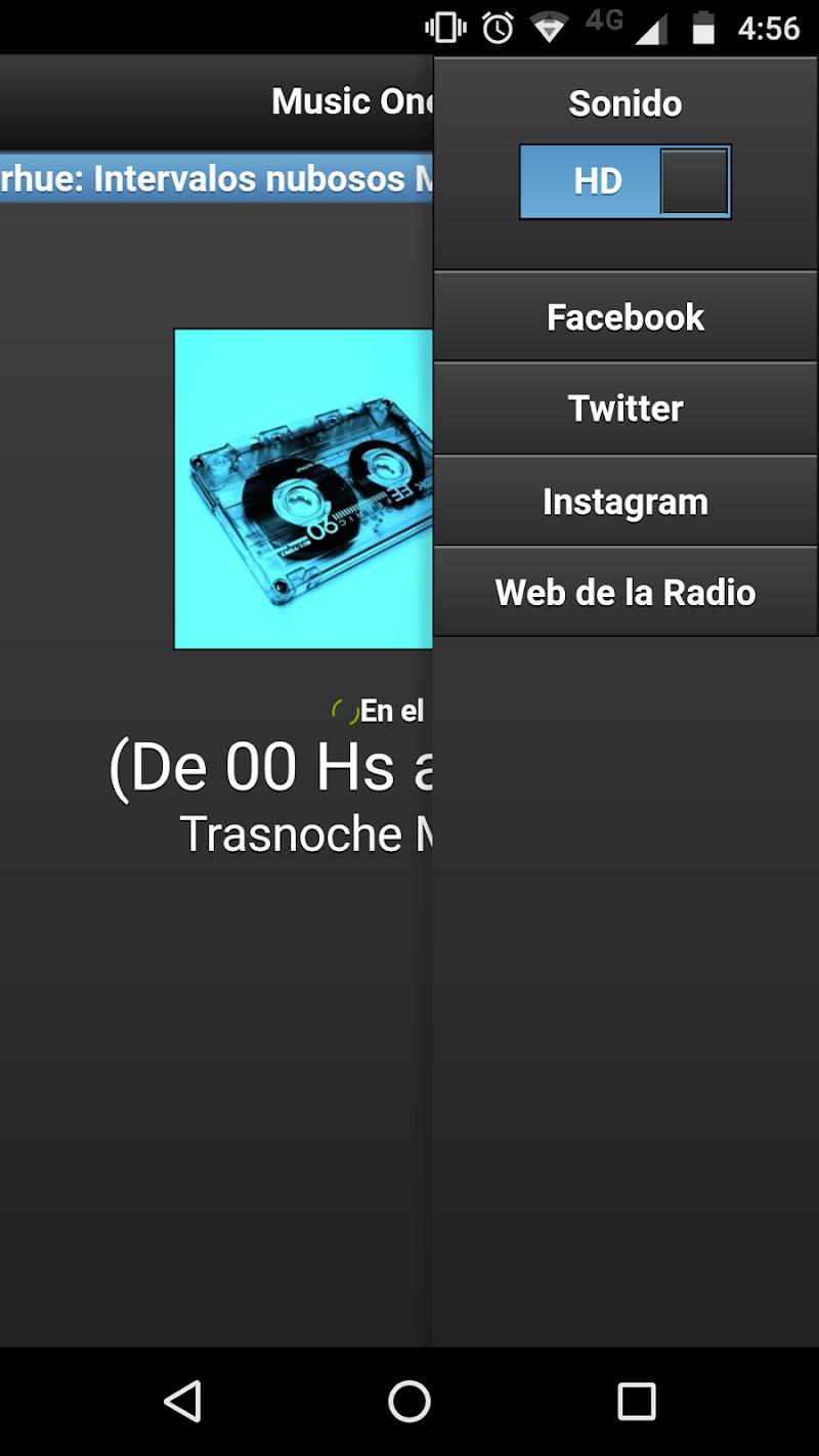Скриншот FM Music One