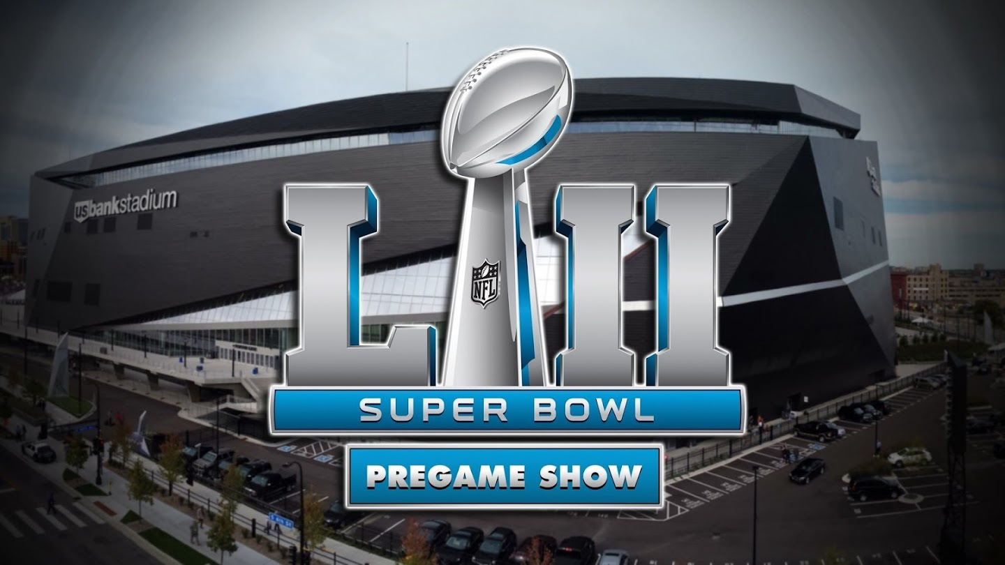 Watch Super Bowl LII Pregame Show live