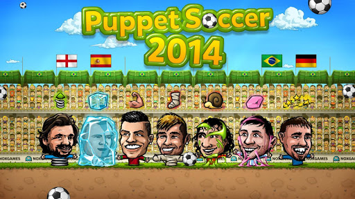 ⚽Puppet Soccer 2014 - Big Head Football ? screenshot 12