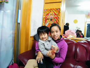 Photo: emakingir with her granddaughter-in-law.