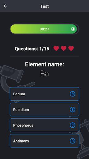 Periodic Table - Game apktram screenshots 8