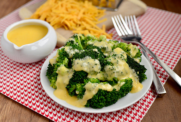 Easy Cheddar Cheese Sauce for Vegetables Recipe