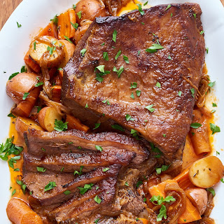 How To Cook Classic Beef Brisket in the Slow Cooker.