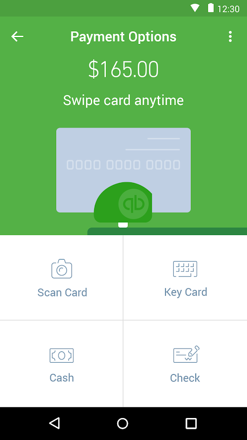 QuickBooks GoPayment- screenshot
