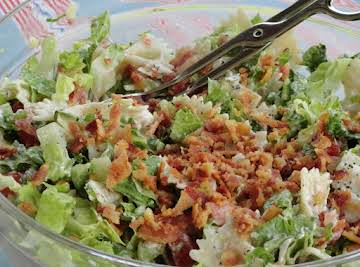 BLT Salad With Greek Yogurt Dressing