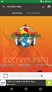 ZimOnline Radio- screenshot thumbnail