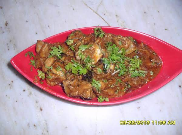 Fenugreek Chicken