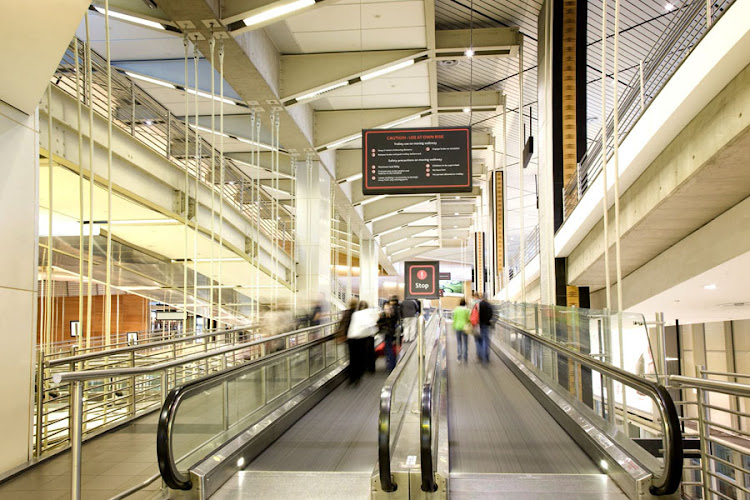 OR Tambo International Airport in Johannesburg. Picture: ACSA