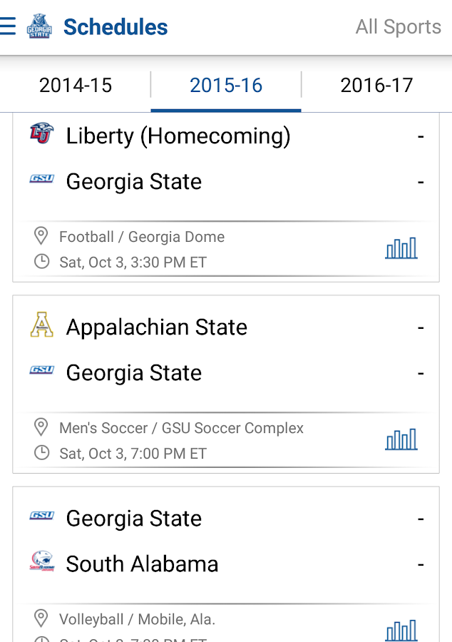 Georgia State Panthers: Free- screenshot