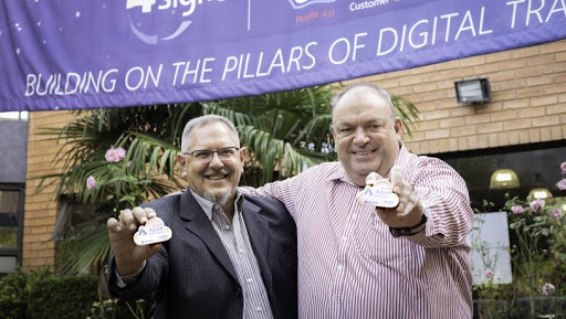 From left: Aldo van Tonder (Chief Digital Officer) and Tertius Zitzke (Chief Executive Officer).