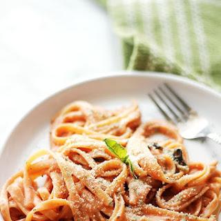 Creamy Tomato One Pot Pasta.