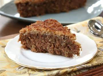 Easy moist spice coffee cake
