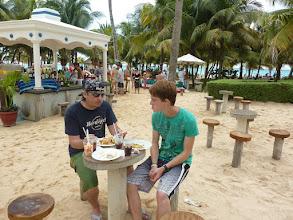 Photo: Mittagessen am Strand