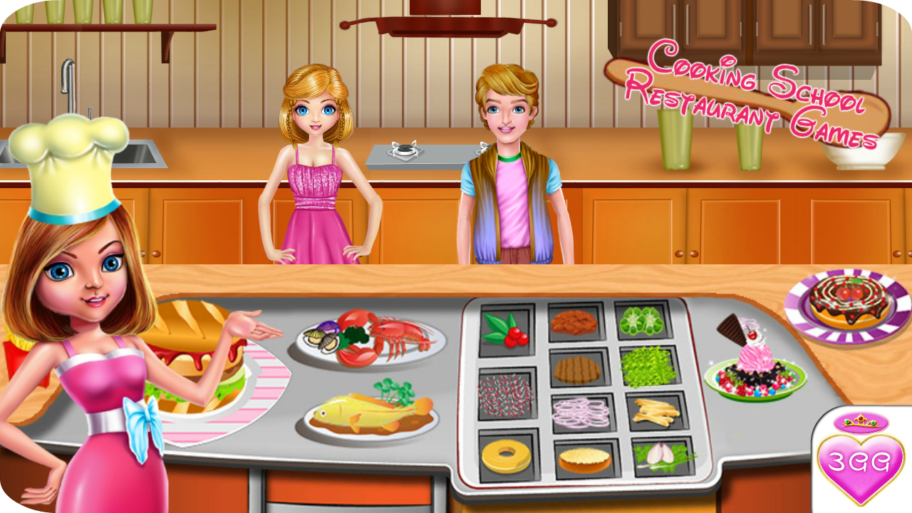 Cooking School Restaurant Game- screenshot