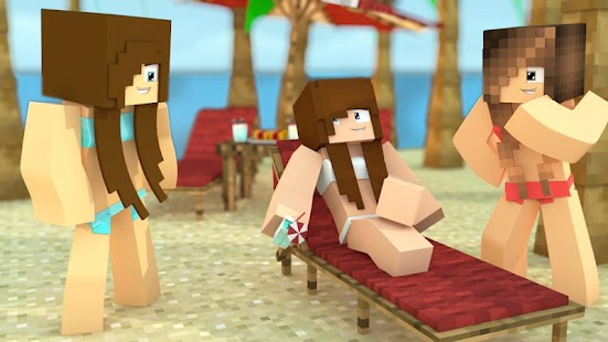 Hot Skins for Minecraft PE Mod