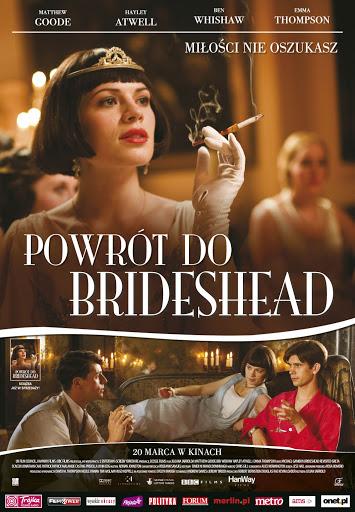 Polski plakat filmu 'Powrót Do Brideshead'