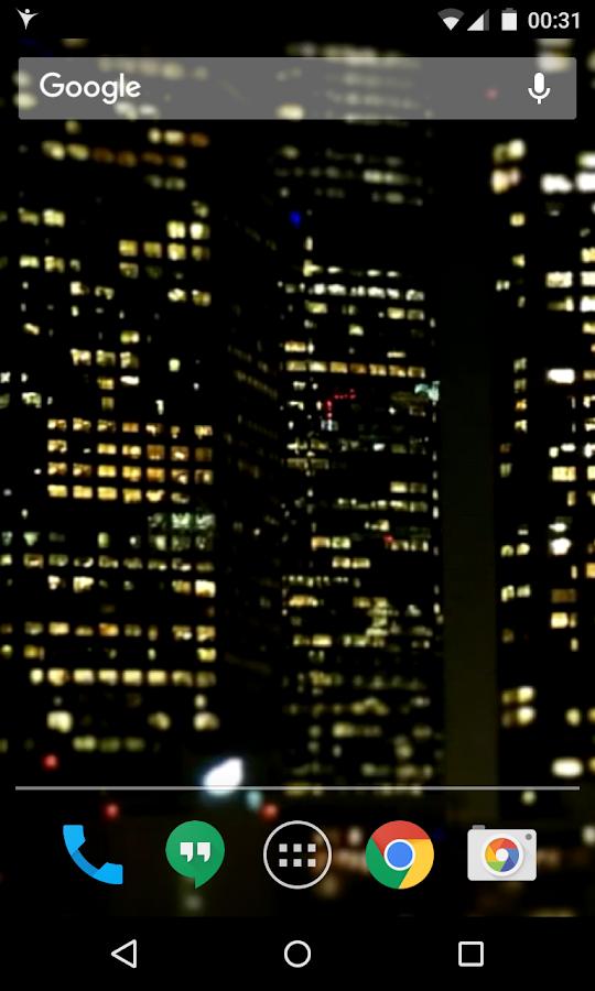 Обои лос анджелес андроид живые городом с на