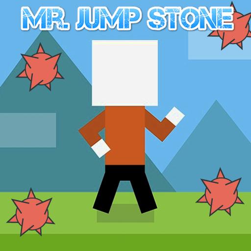 Mr. Jump Stone 休閒 LOGO-玩APPs